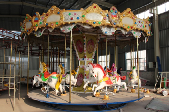 Beston 12 seats kiddie carousel for sale BNCR-118