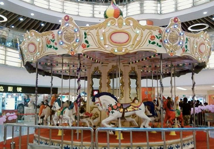 Beston 16 seats grand vintage carousel for sale