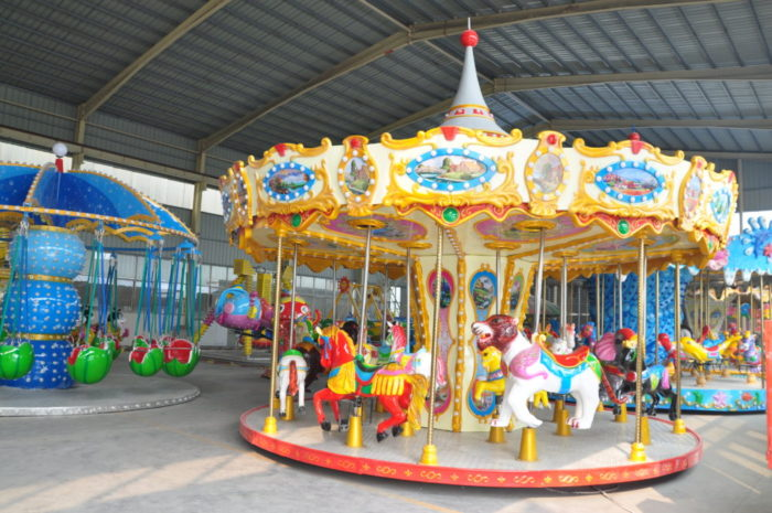 Beston 16 seats kiddie animals carousel ride for sale BNCR-122