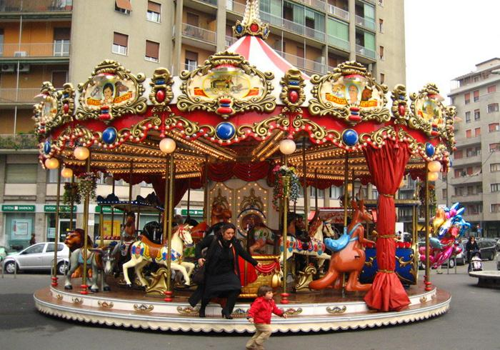 Beston 24 seats deluxe Christmas carousel for sale
