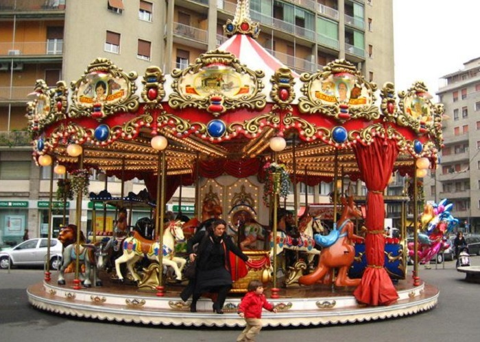 Beston 24 seats deluxe carousel for sale