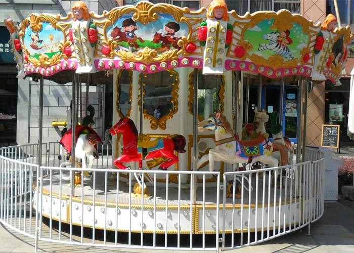 Beston 6 seats horses carousel for sale