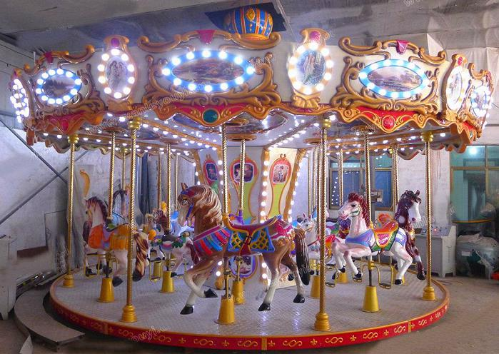 Beston christmas carousel ride for sale