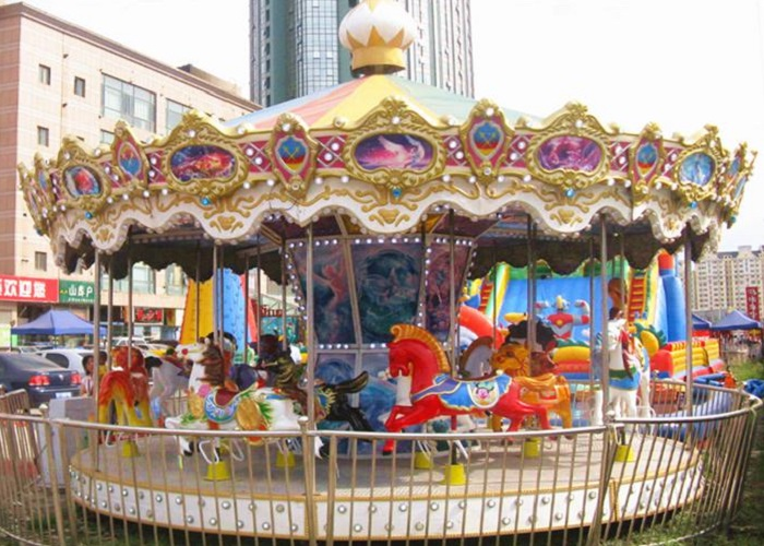 Beston amusement park merry go round for sale