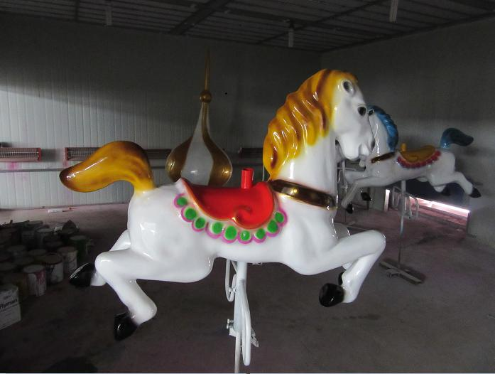 Beston antique carousel ride horse for sale