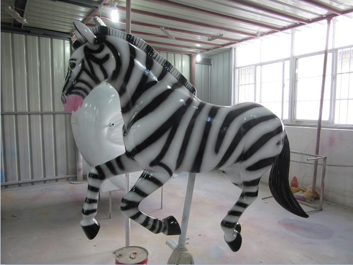 Beston carousel zebra for sale