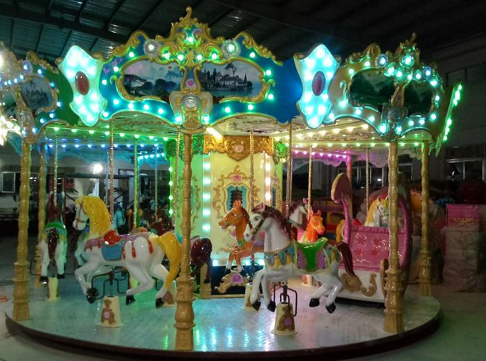 Beston antique carousel ride for sale BNCR-107