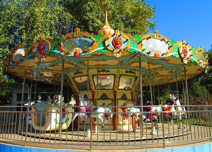 Beston fair carousel merry go round for sale