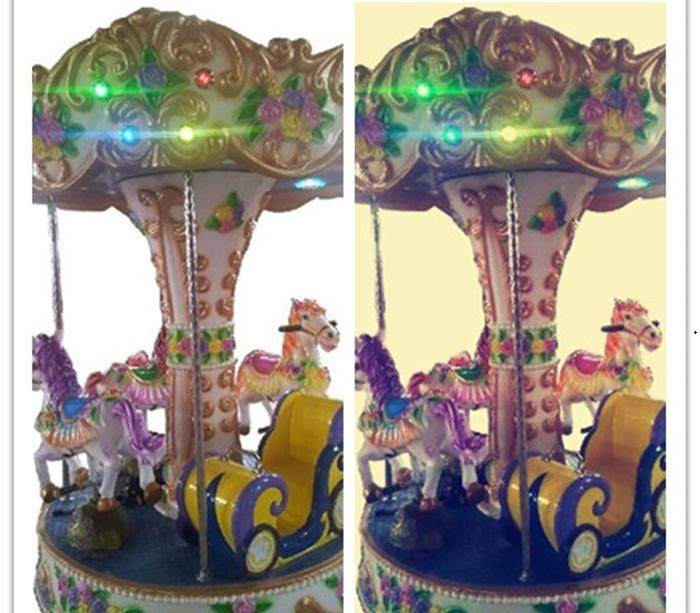 Beston four seats mini carousel ride for sale BNCR-08