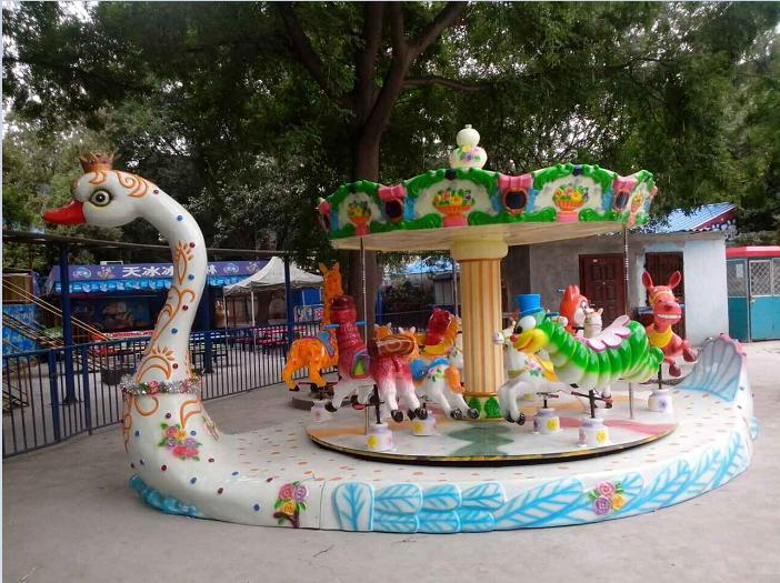 Beston goose platform carousel ride for sale