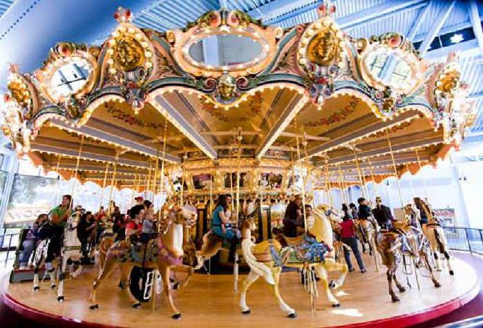 Beston grand antique carousel with 32 seats for sale