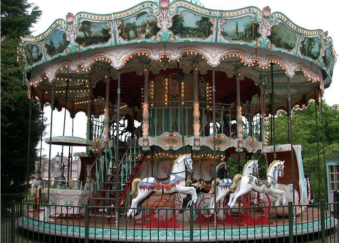 Beston grand double decker carousel for sale