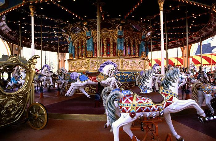 Beston grand vintage carousel for sale
