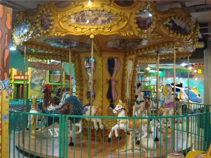 Beston indoor merry go round for sale BNCR-108