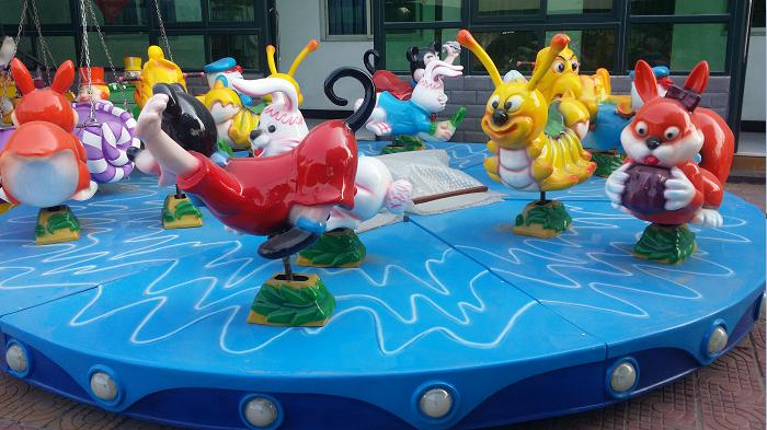 Beston kiddie carousel ride animals for sale