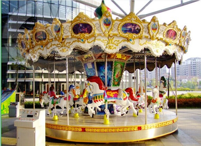 Beston antique carousel for sale BNCR-138