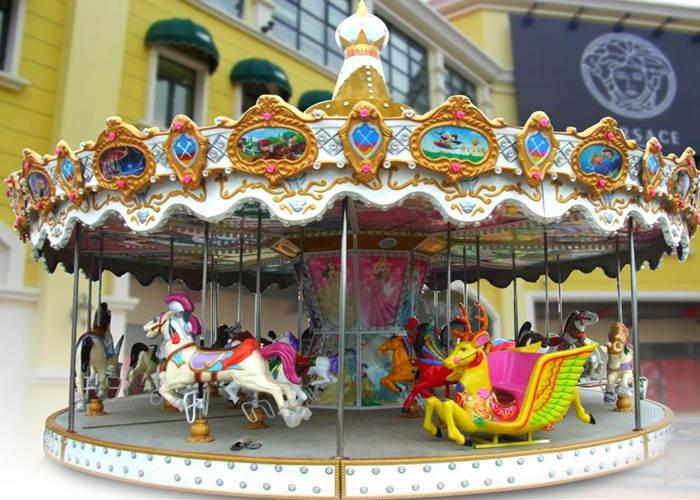Beston mall carousel ride for sale