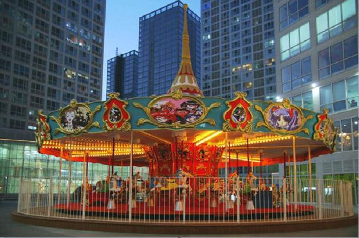 Beston mall merry go round for sale