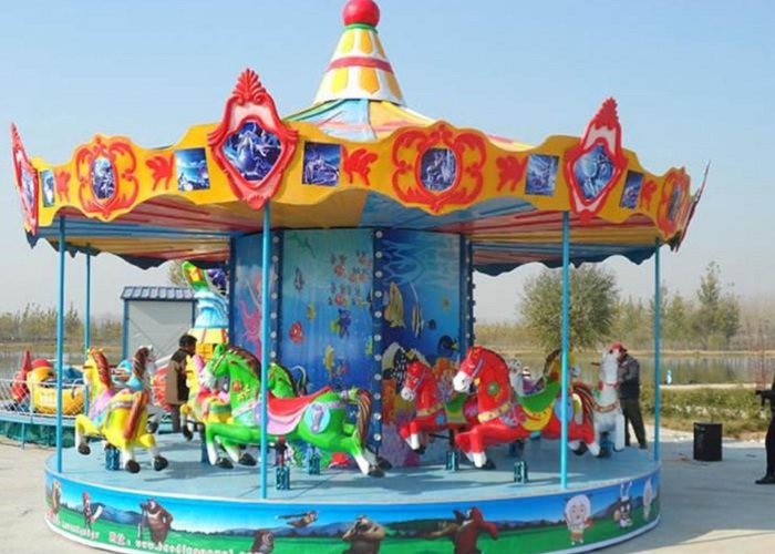 Beston ocean theme carousel ride for sale