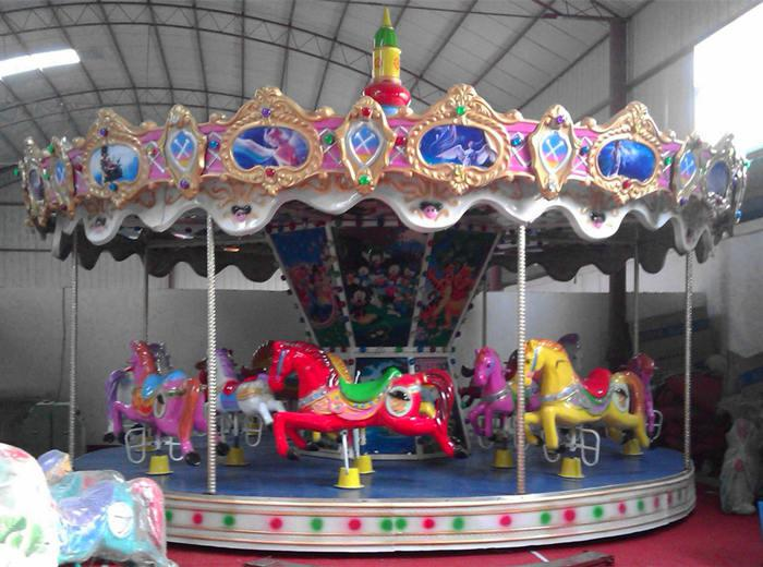 Beston playground Christmas carousel for sale