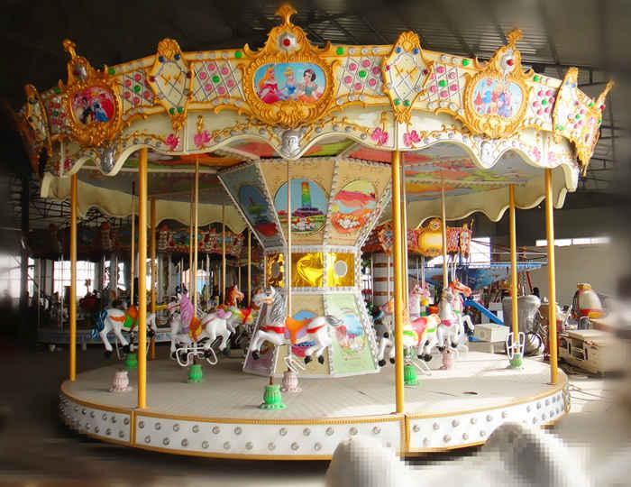 Beston 16 seats indoor kids carousel rides for sale
