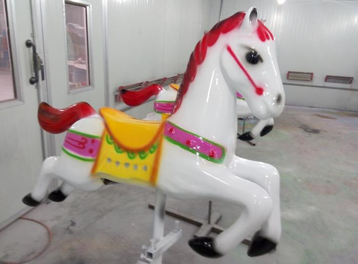 Beston red line carousel horse for sale