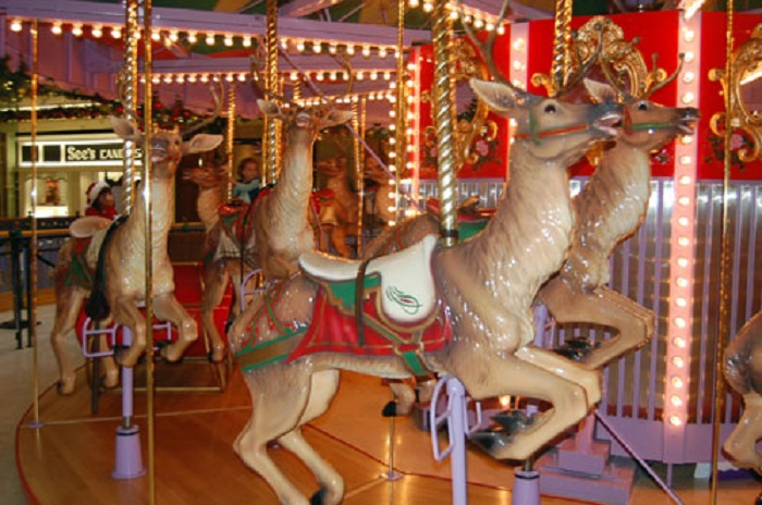 Beston reindeer carousel for sale