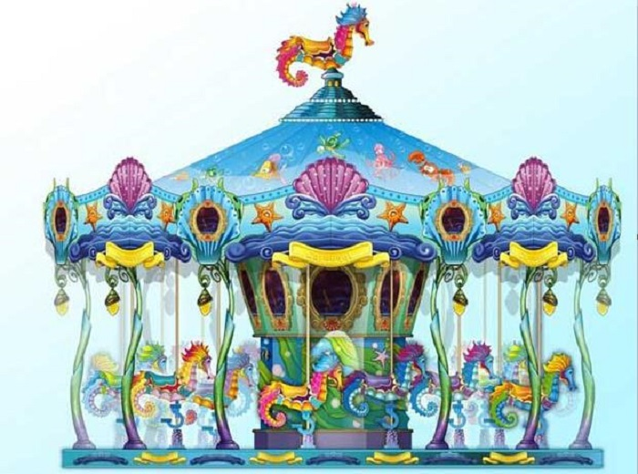 Beston seahorse carousel merry go round for sale