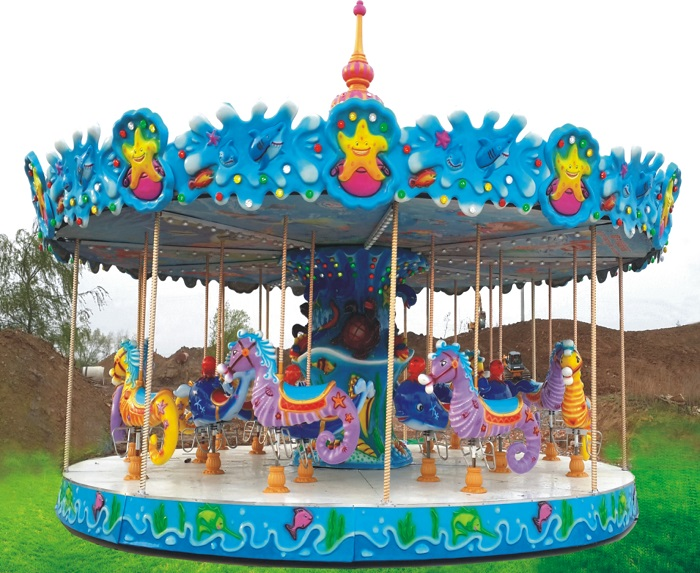 Beston seahorse carousel ride for sale BNCR-57