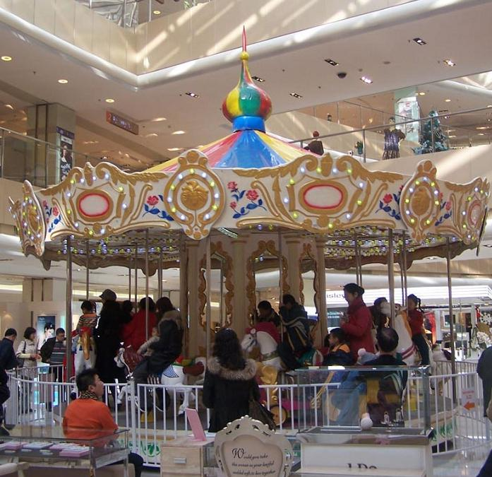 Beston shopping mall carousel ride for sale