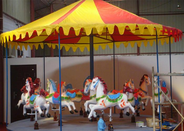 Beston simple carousel ride for sale