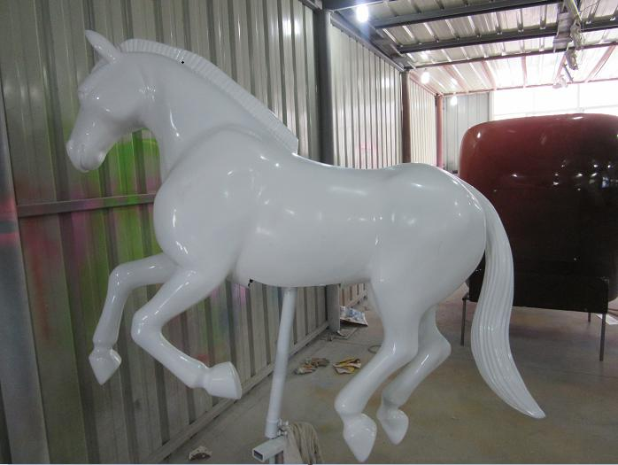 Beston unpainted carousel horse for sale