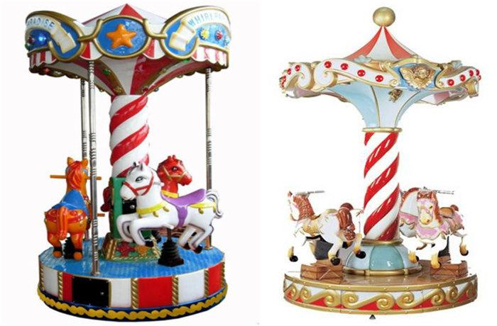 Beston 4-seat coin op merry go round for sale