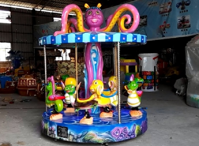 Beston 9 seats coin operated merry go round for sale