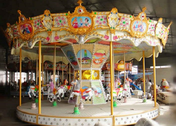 Beston coin-operated horse carouel ride for sale