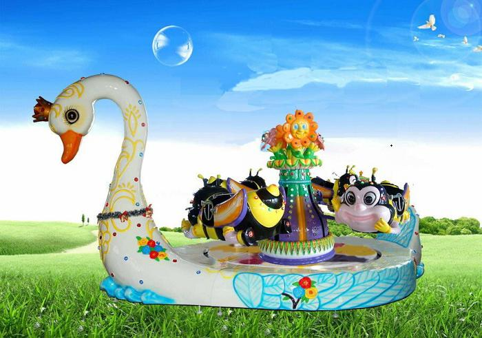 Beston goose platform mini bee carousel ride for sale